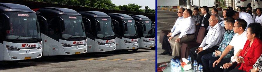 20 Bus Wisata Baru Arion