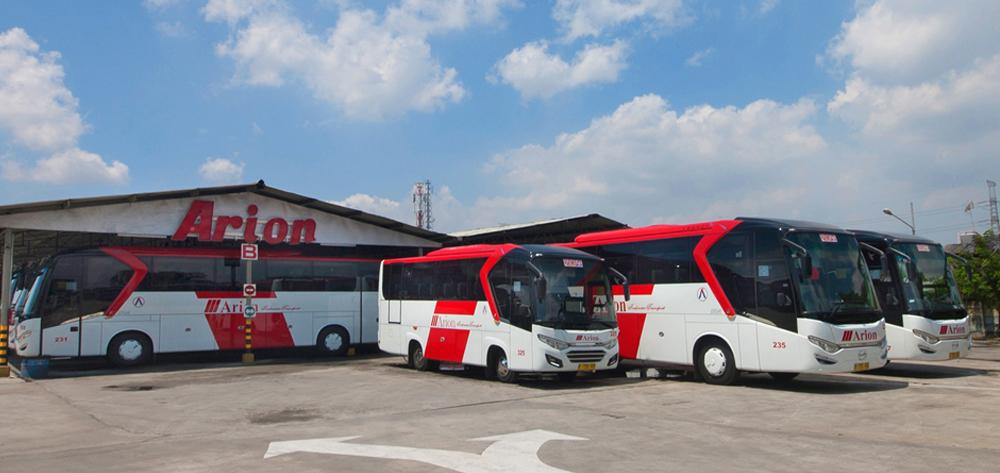 Arion Pool Bus Wisata Jakarta
