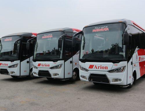 Peresmian 3 Armada Bus Baru Arion Indonesia Transport