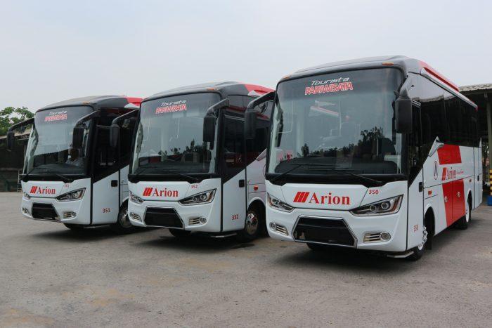 Harga Sewa Bus Pariwisata Medium 33 Seat