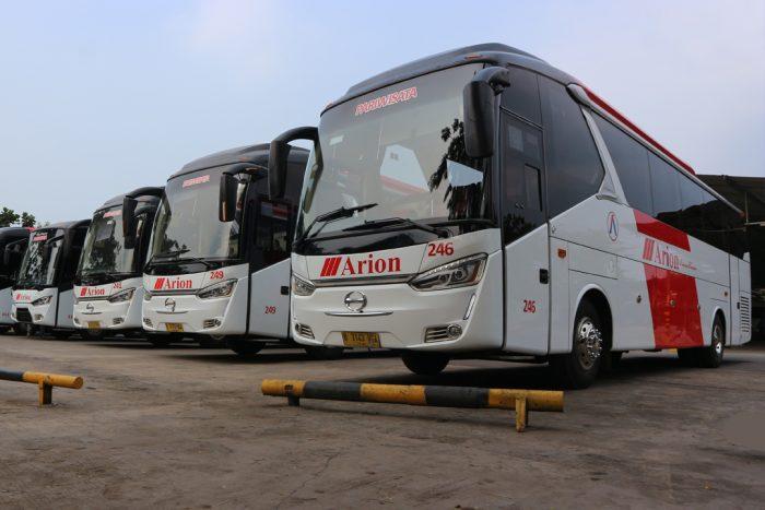 Bus Wisata 59 Seat Legacy SR-1