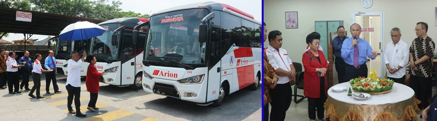 Bus Wisata Baru Arion