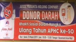 Donor Darah PT Arion Paramita