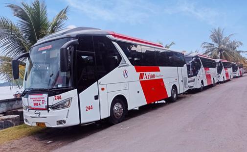 Sewa Bus Pariwisata Jakarta 48 Seat