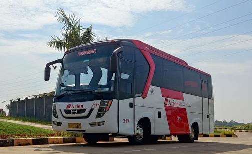 Bus Antar Jemput 33 Seat